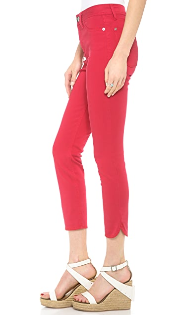 DL1961 Bardot High Rise Crop Skinny Pants