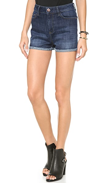 DL1961 Hutton High Rise Shorts
