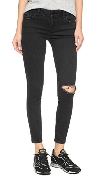 DL1961 Margaux Ankle Skinny Jeans - Busted
