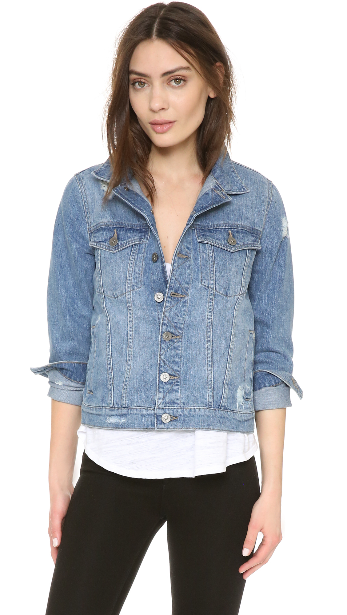 DL1961 Maddox Boyfriend Jacket - Sunwashed