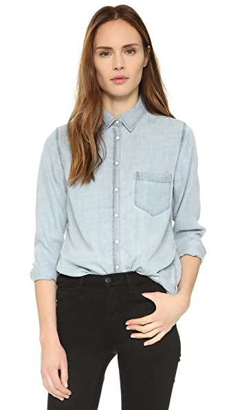 DL1961 The Blue Shirt Shop Mercer & Spring Chambray Shirt
