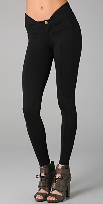 David Lerner Curved Yoke Leggings