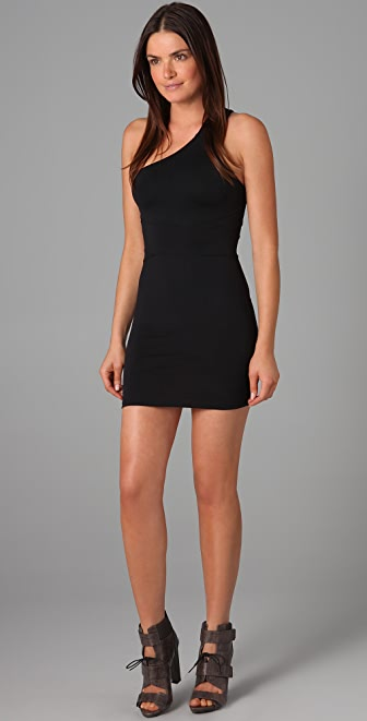 David Lerner Wrap Bandage Dress
