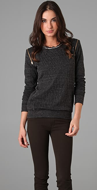 David Lerner Zip Sweatshirt
