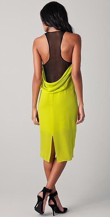 David Lerner Waterfall Midi Tank Dress