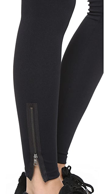 David Lerner Maternity Zipper Leggings