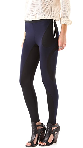 David Lerner Extreme Curved Seam Leggings