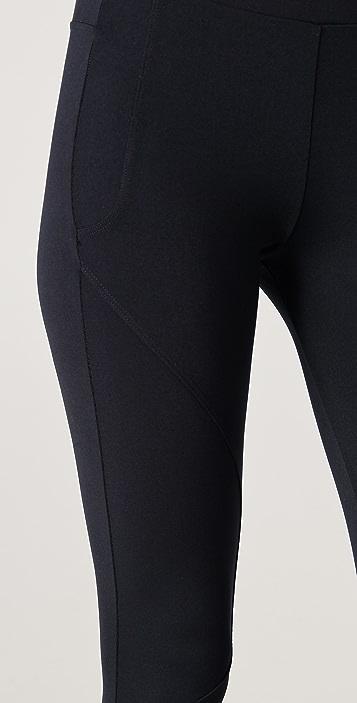 David Lerner Seamed Detail Leggings