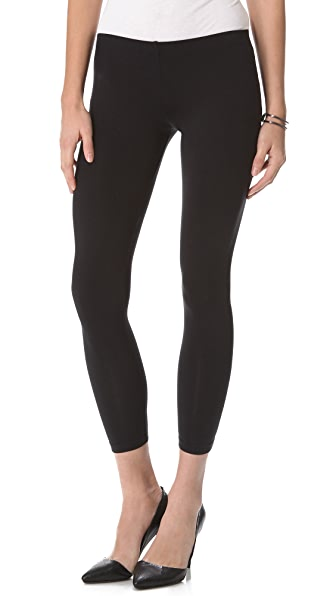 "David Lerner 9"" Bottom Zipper Legging"