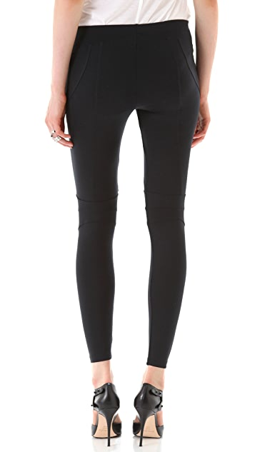 David Lerner Seam Detail Leggings