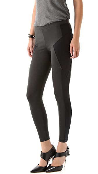 David Lerner Triangle Side Inserts Leggings