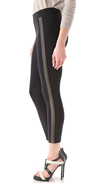 David Lerner Mesh Tux Leggings