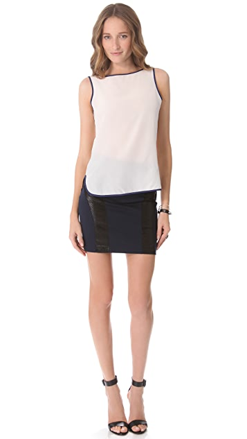David Lerner Sleeveless Top