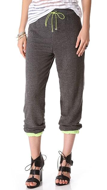 David Lerner Lined Sweatpants