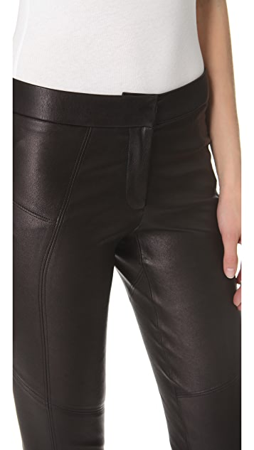 David Lerner Classic Leather Pants