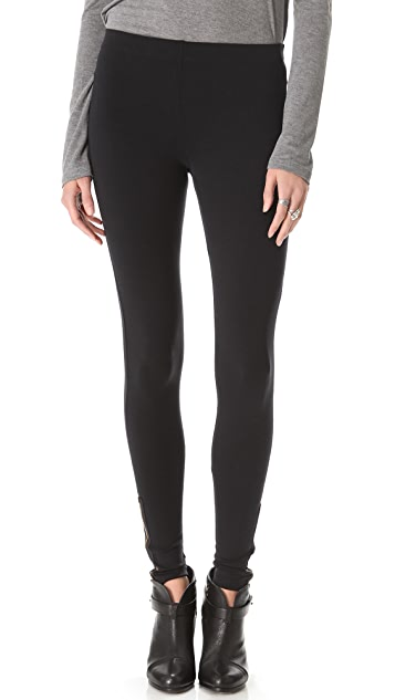 David Lerner Side Zip Leggings