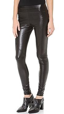 David Lerner Faux Leather Leggings