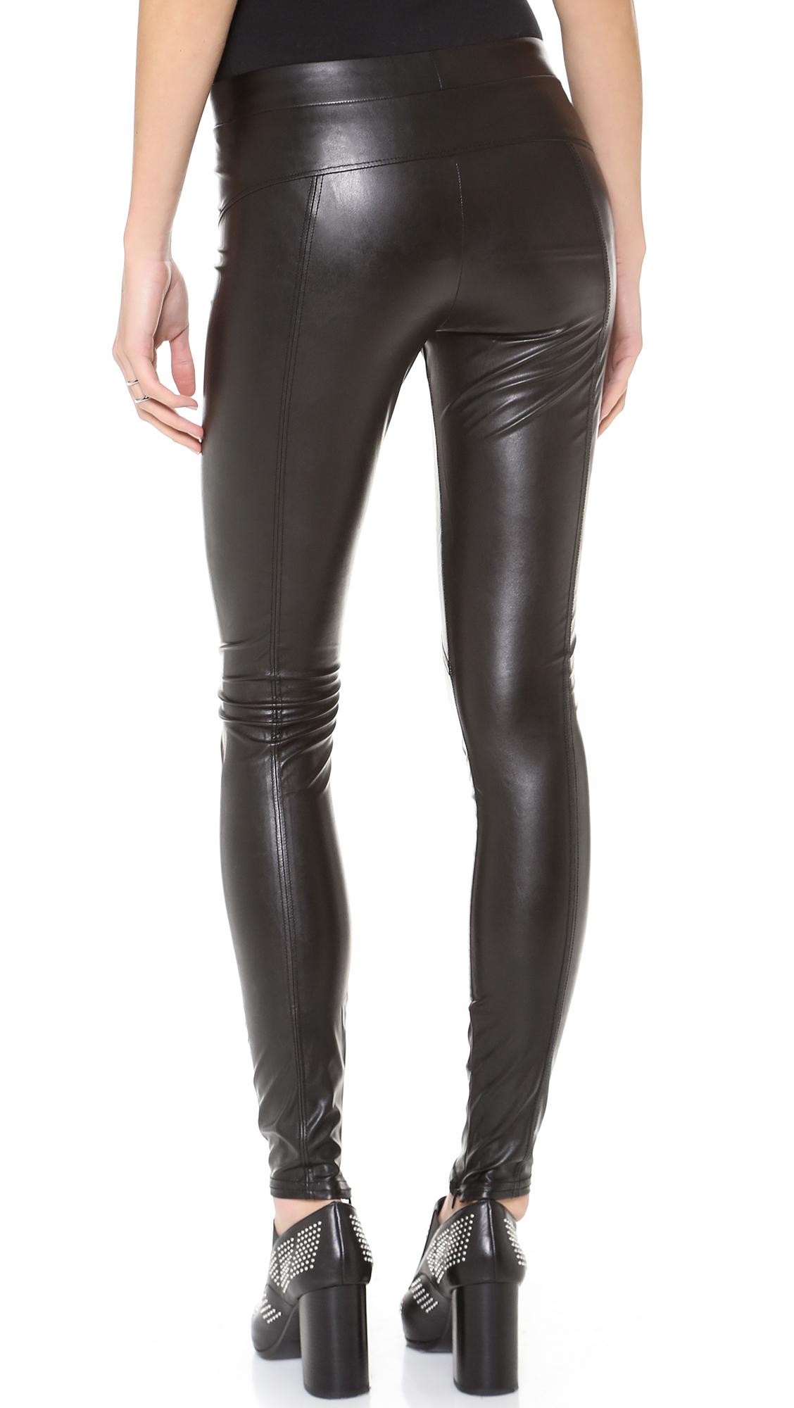 bc82a59137bcc David Lerner Faux Leather Leggings | SHOPBOP