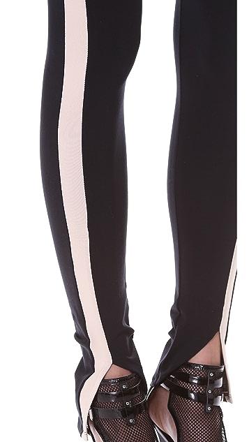 David Lerner Tuxedo Leggings