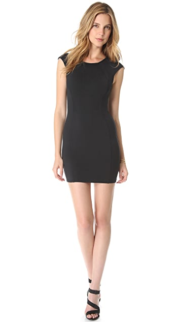 David Lerner Basic Cap Sleeve Dress