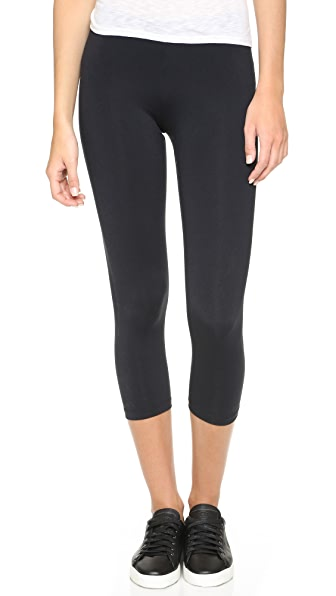 David Lerner Cropped Leggings - Black
