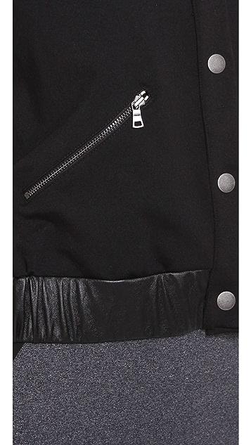 David Lerner The Robinson Leather Jacket