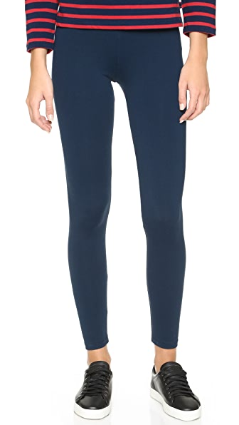 David Lerner Classic Leggings In Navy