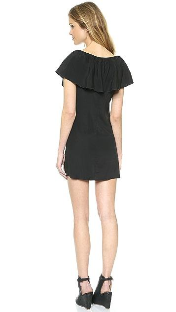 David Lerner David Lerner x Maleficent Ruffle Dress