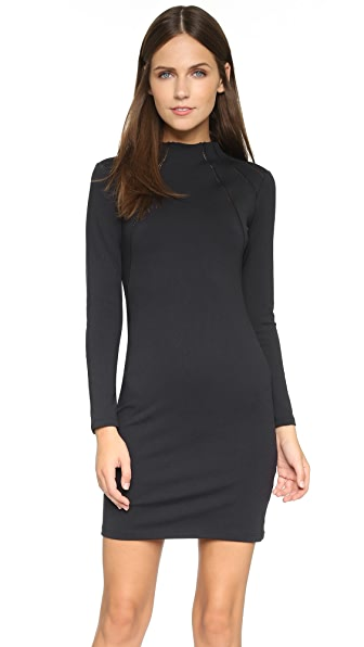 David Lerner Funnel Neck Dress