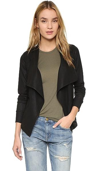 David Lerner Long Sleeve Drape Jacket