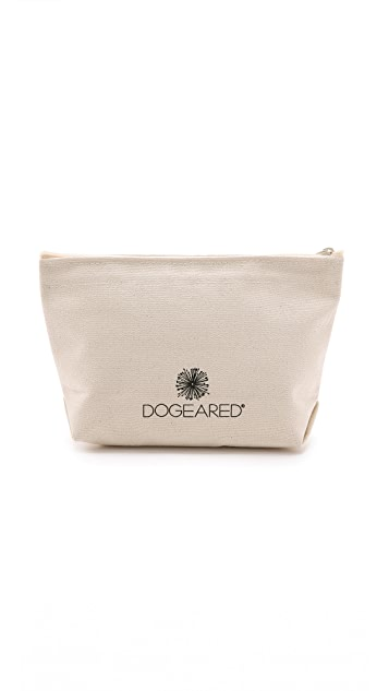 Dogeared Let's Makeup Pouch