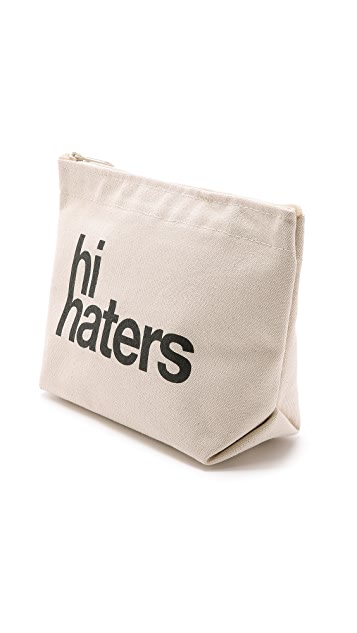 Dogeared Hi Haters Pouch