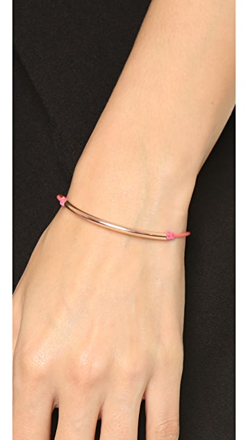 Dogeared Balance Tube Bracelet