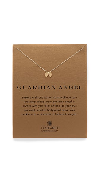 Love this Guardian Angel pendant necklace