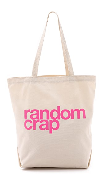 Dogeared Random Crap Tote