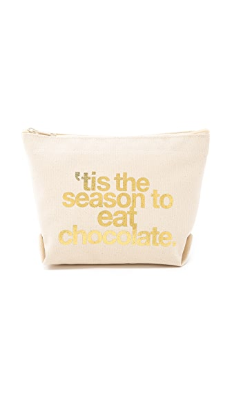 Dogeared Tis the Season to Eat Chocolate Pouch