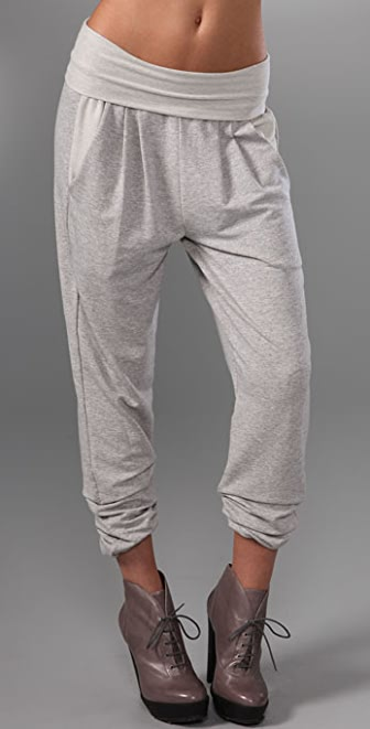 Dolan Left Coast Harem Pants with Fold Over Waist