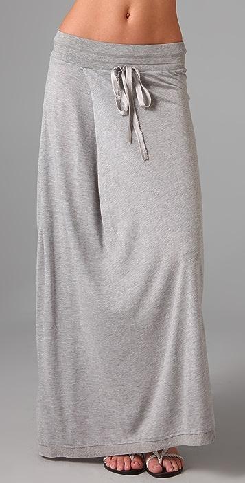 Dolan Pleat Maxi Skirt