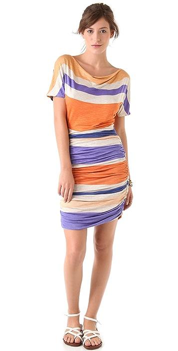 Dolan Shirred Tee Dress