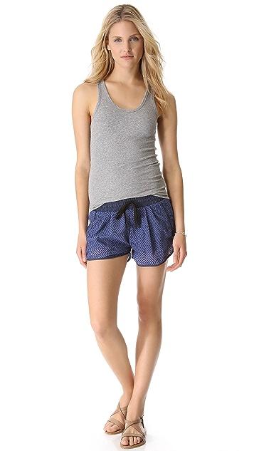 Dolan Denim Waistband Shorts