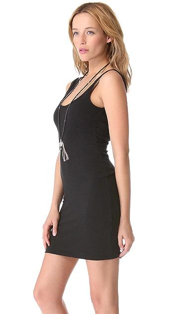 Dolan Layering Slip Dress with Low Back