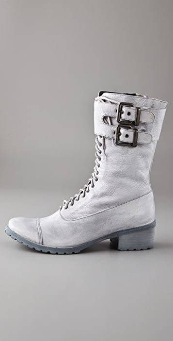 Dolce Vita Brent Lace Up Combat Boots