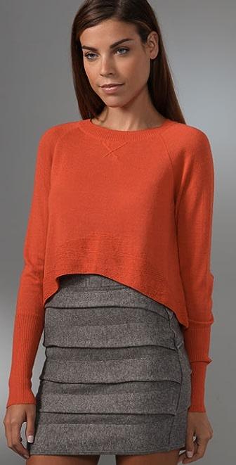 27120460c Dolce Vita Baby Alpaca Cropped Sweater