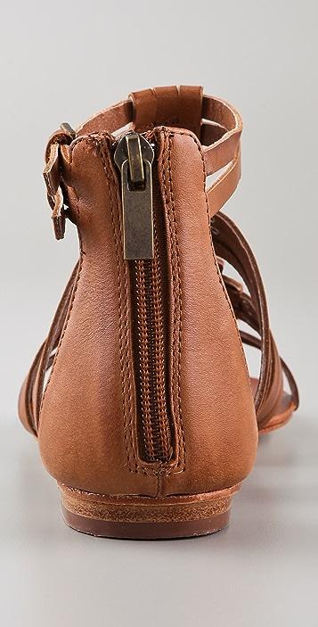 Dolce Vita Cybele Woven Flat Sandals