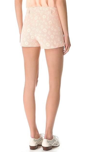 Dolce Vita Mari-Gold Shorts