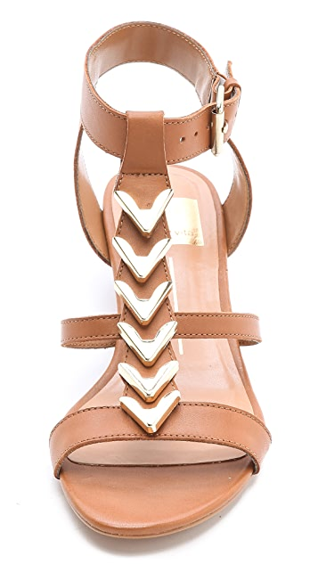 Dolce Vita Helia Low Wedge Sandals
