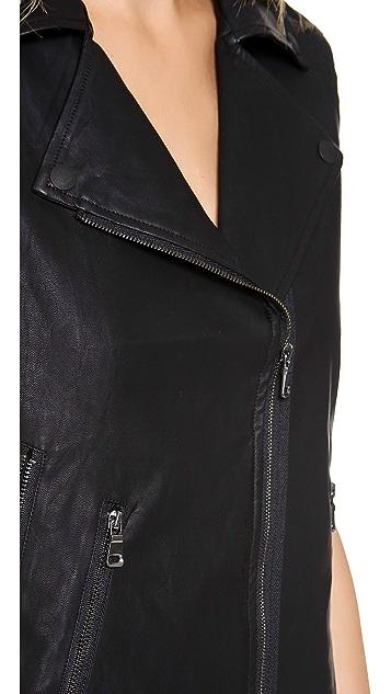 Dolce Vita Felixa Faux Leather Vest