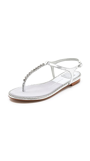 Dolce Vita Ensley Metallic Sandals