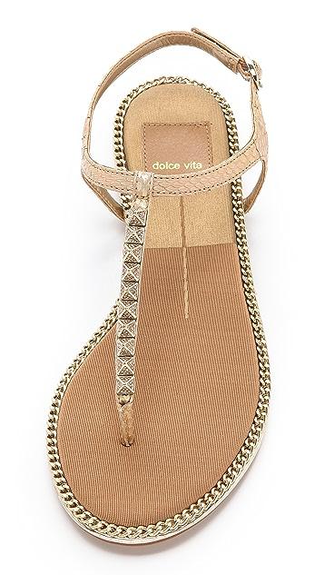 Dolce Vita Ensley Snakeskin Sandals