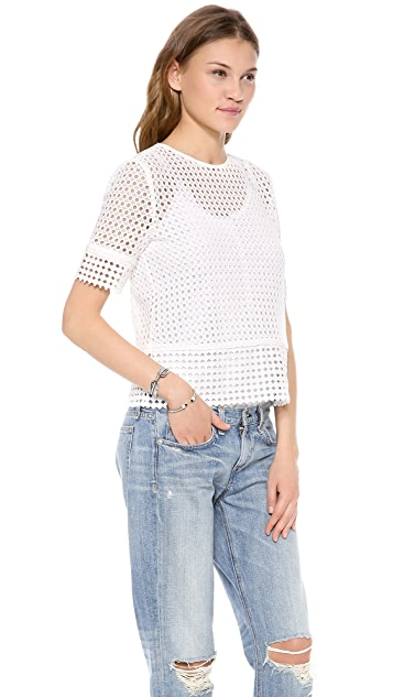 Dolce Vita Matta Lace Top